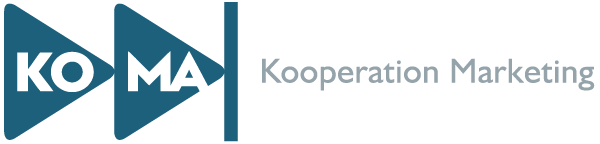 KoMa Kooperation Marketing Logo